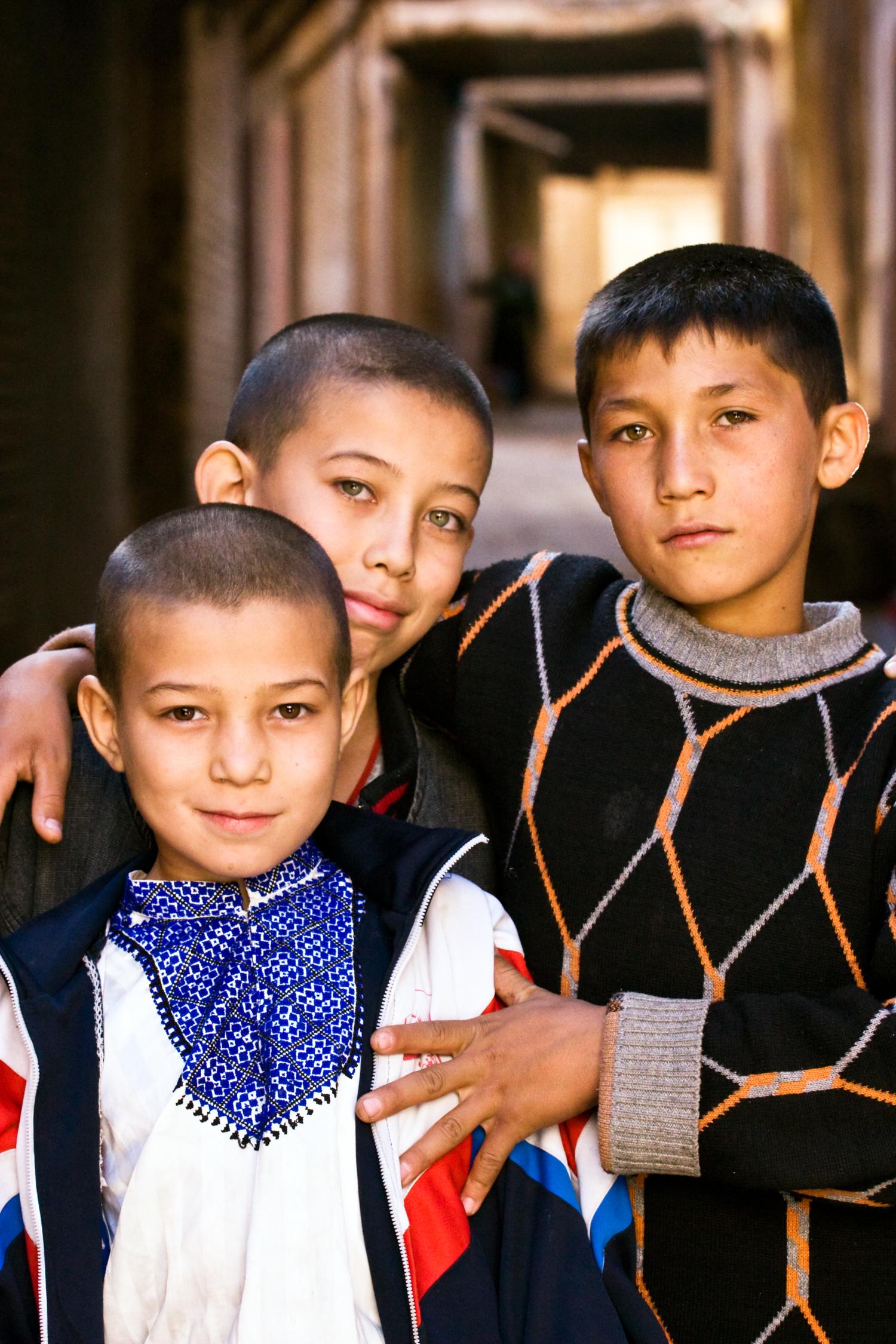 Kashgar Alleyway Boys.jpg