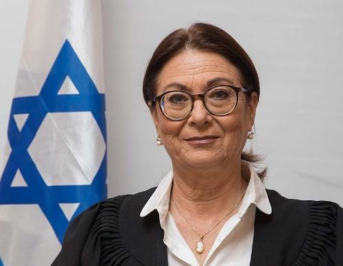 Supreme Court President Esther Hayut