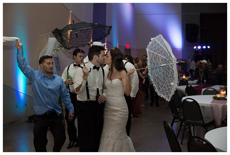 SECOND LINE AT WEDDING