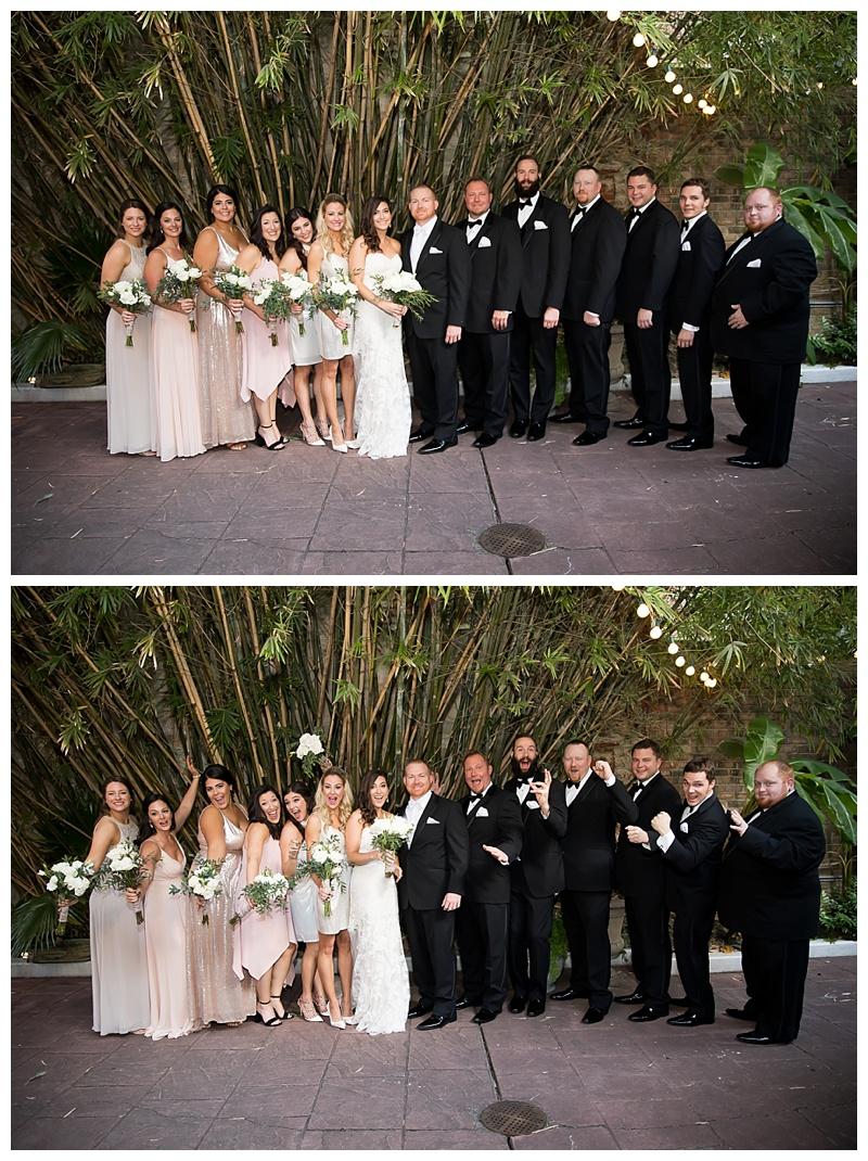 BRIDAL PARTY POSES