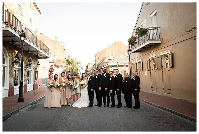 BRIDAL PARTY NEW ORLEANS WEDDING