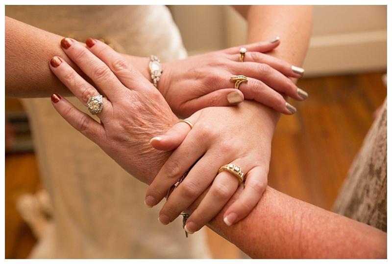 Family wedding rings
