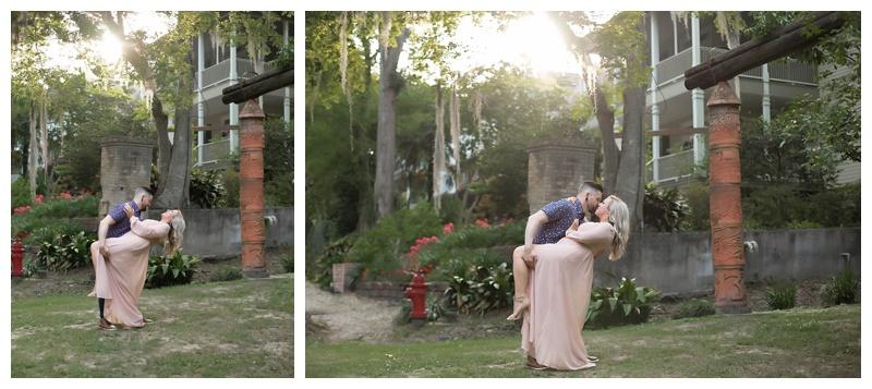 Downtown Covington LA Wedding Photographer