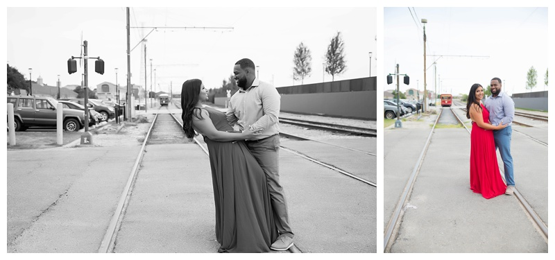 Streetcar Engagement Session New Orleans
