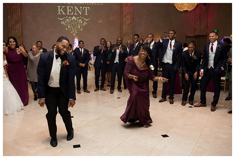 Fun Wedding Party Dance Pictures