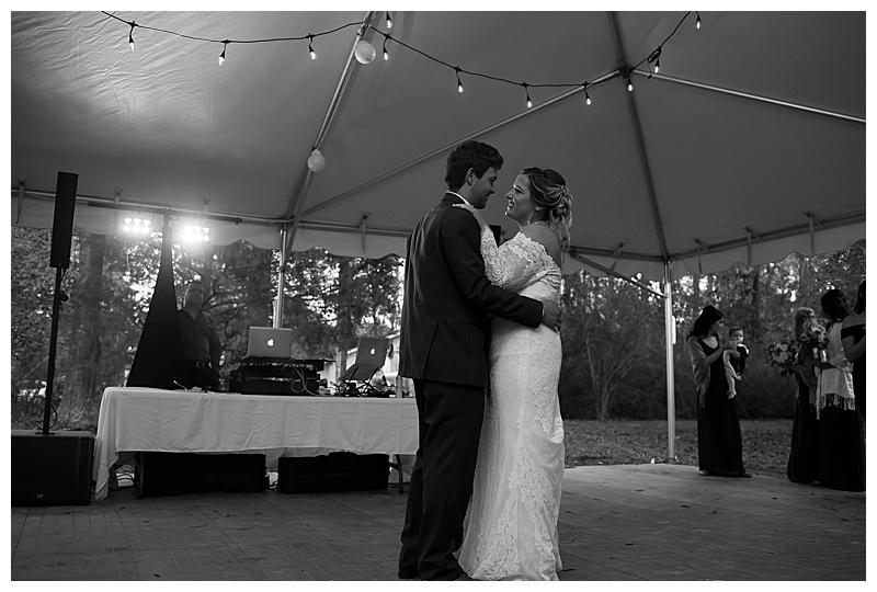 First Dance Southern Wedding