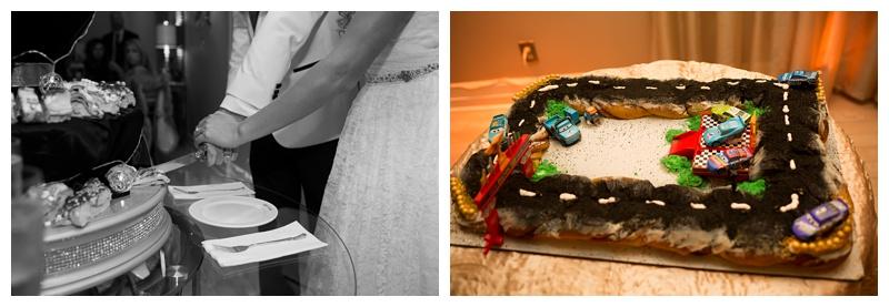 Kingcake wedding cake New Orleans LA