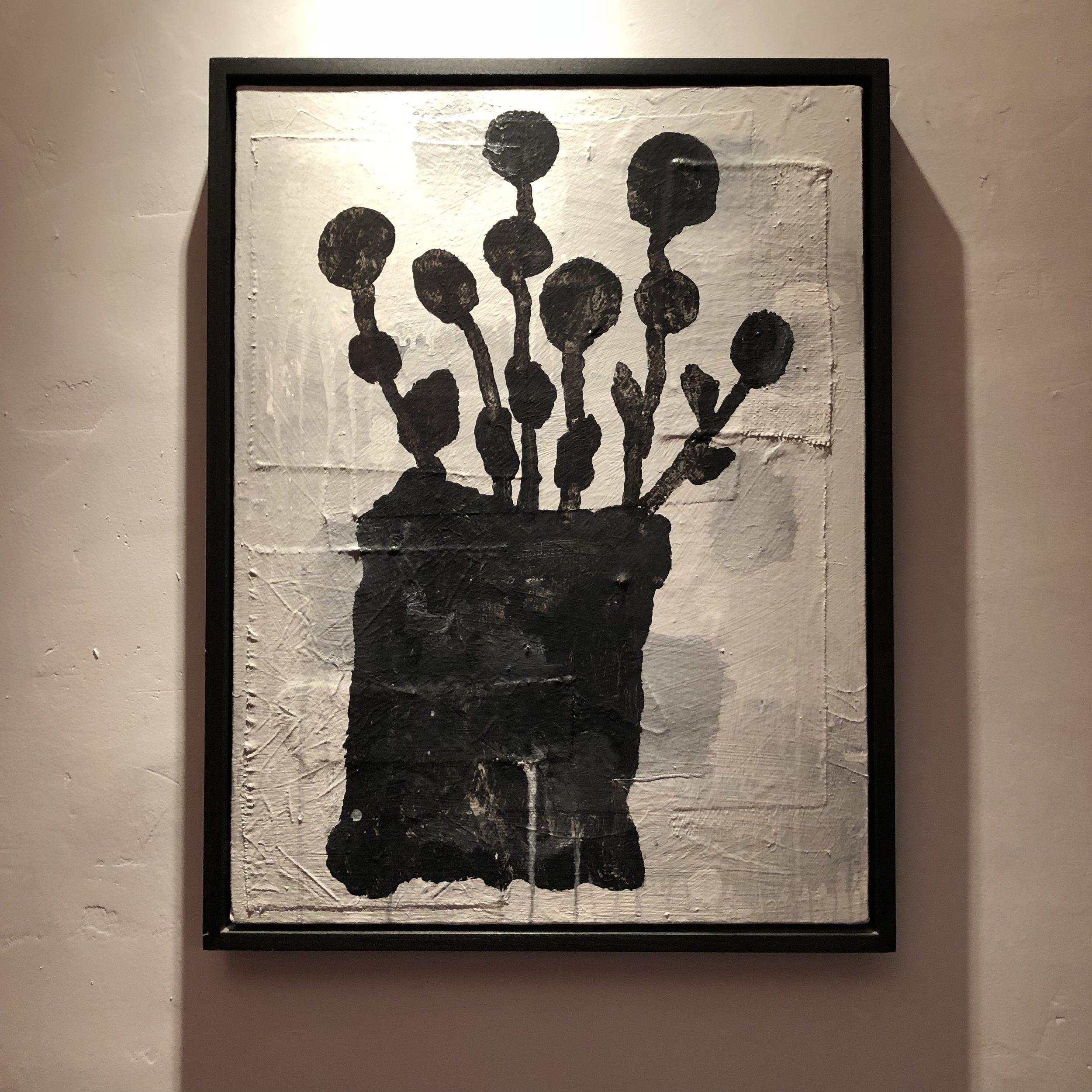 "Donald Baechler, ""Flowers for Susan,"" 1998"