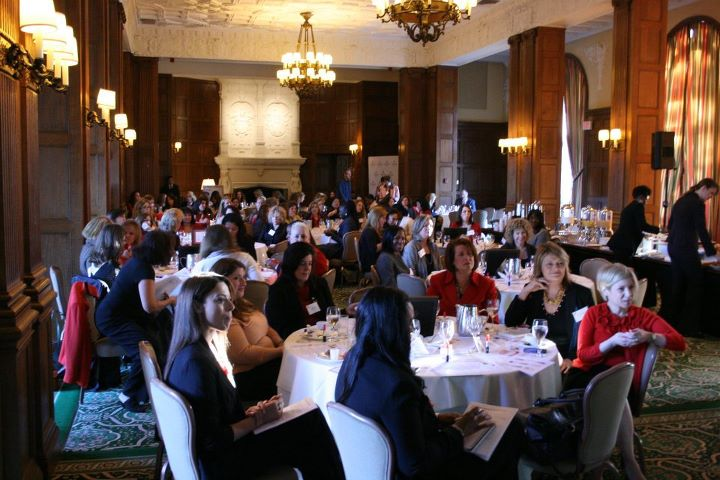 """Go Red for Women and Women's Health Roundtables in White Plains New York, where Kelley engaged women in the topic of """"Empower Yourself to Be Your Own Best Health & Wellness Advocate"""""""