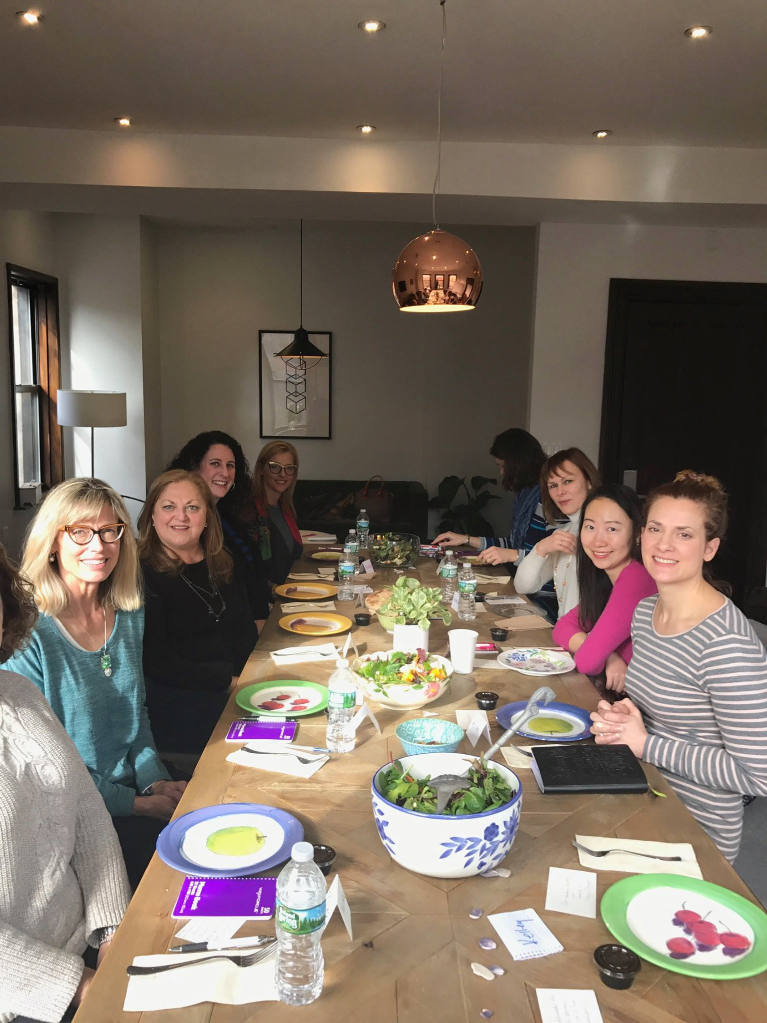 Brave Moves with Professional Working Women in our Back Bay town house, January 2016.