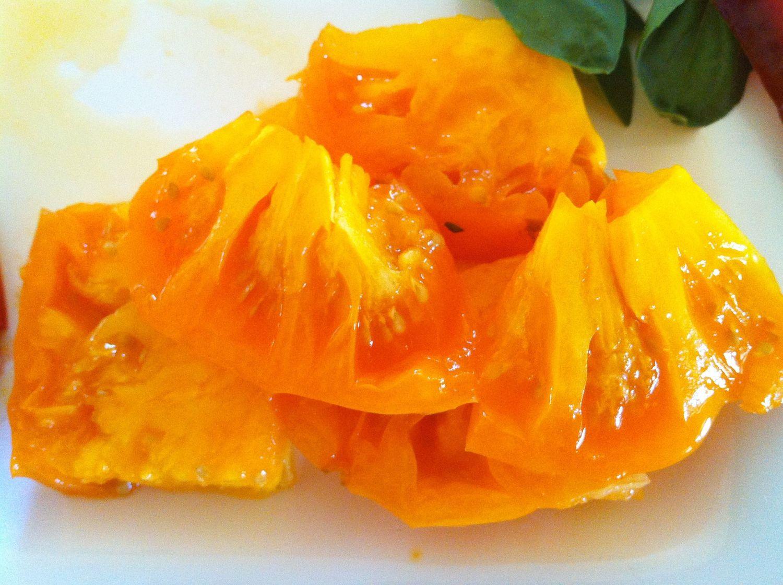 Tomatoes - Orange/Yellow