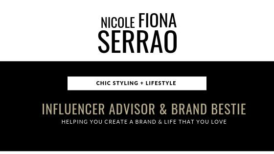 Nicole Fiona Serrao Influencer Advisor Brand Bestie