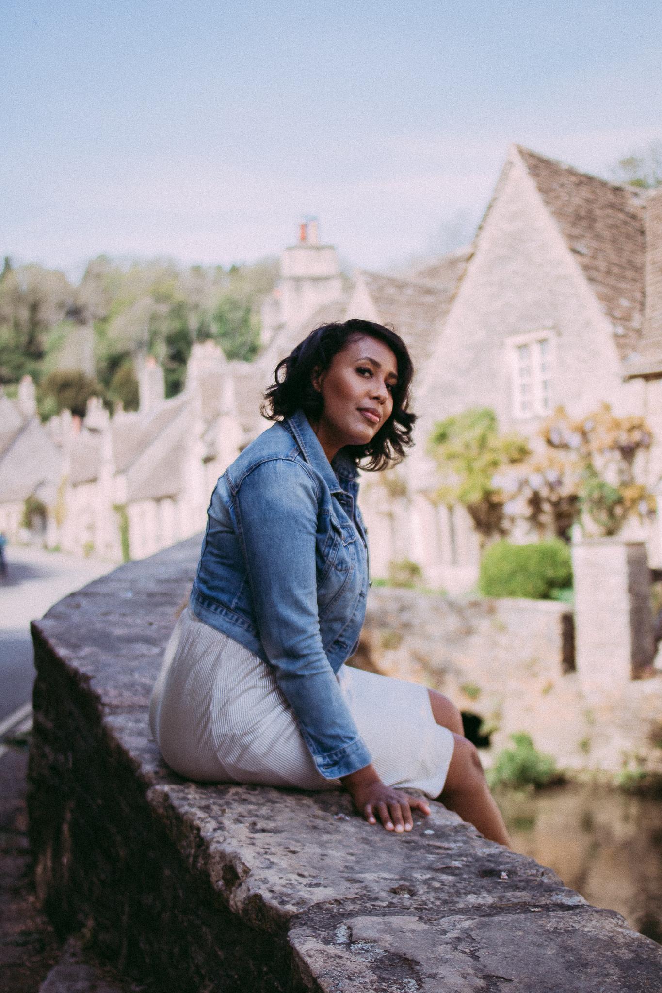 Nicole Fiona Serrao Castle Combe Bristol Blogger