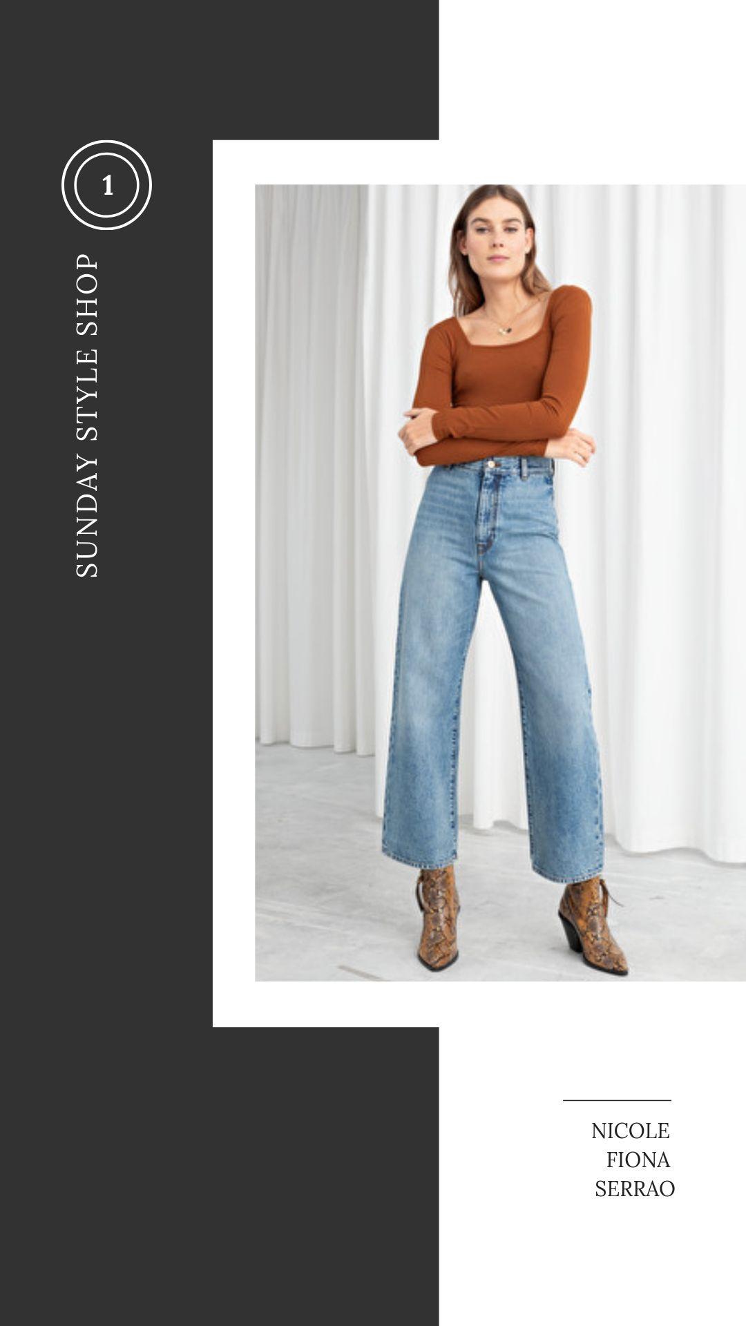 Nicole Fiona Serrao Sunday Style Shop & Other Stories