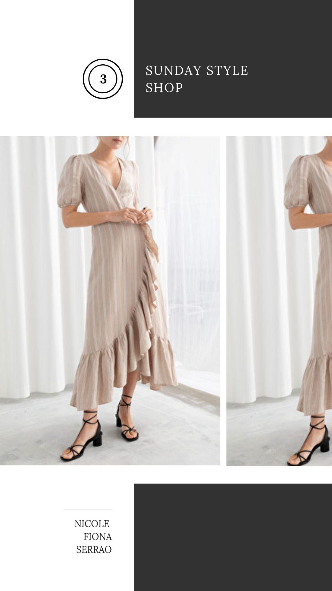 Nicole Fiona Serrao Sunday Style Shop & Other Stories Dress