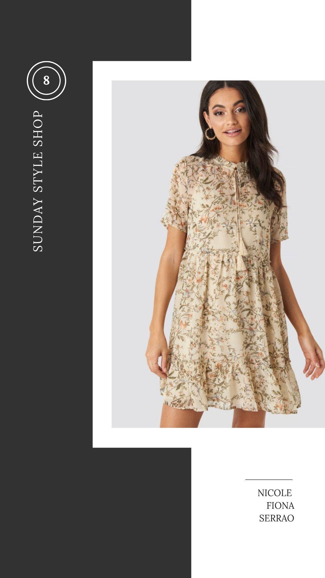 Nicole Fiona Serrao Sunday Style Shop NA-KD