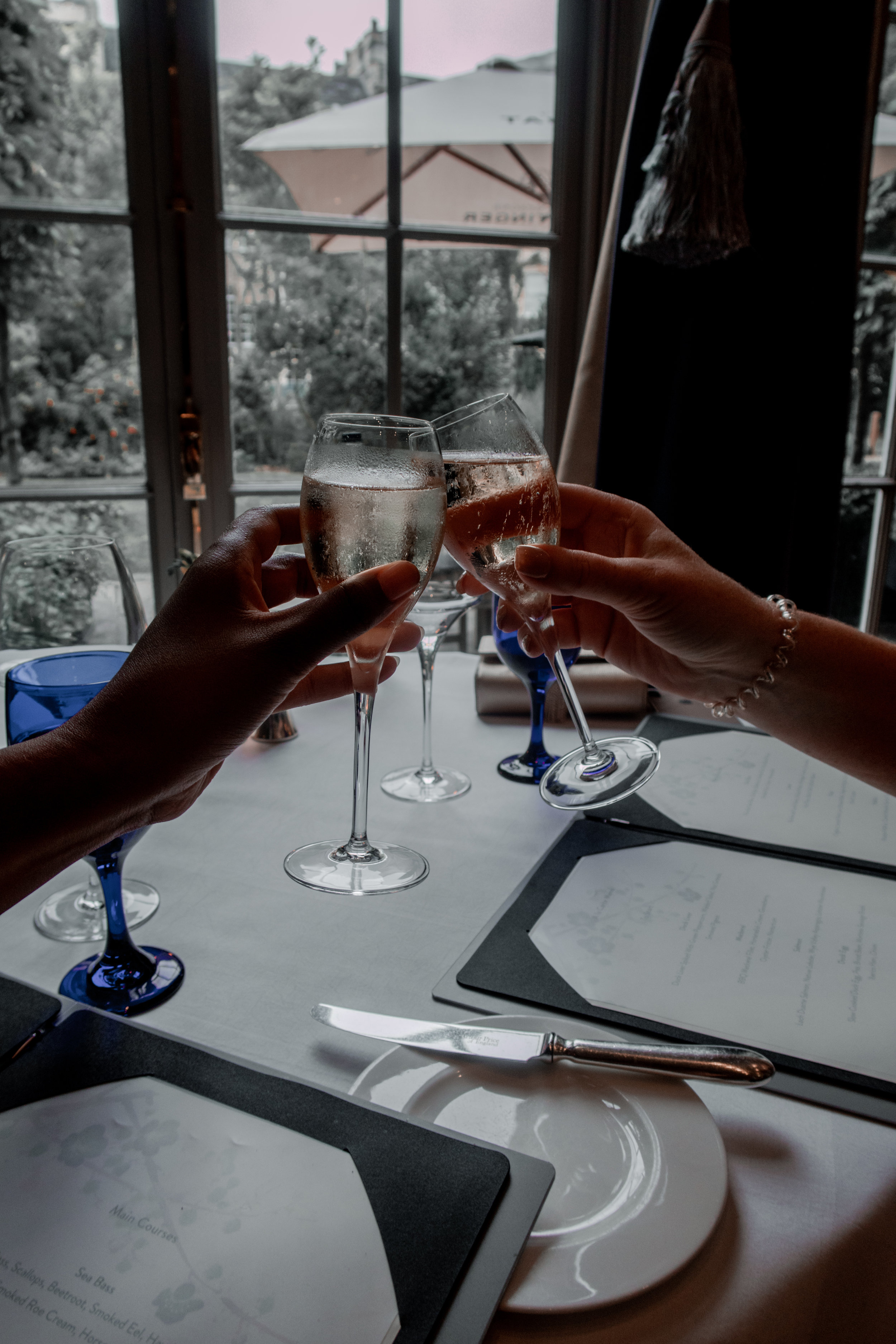champagne royal crescent hotel and spa the dower house nicole fiona serrao lets eat with nicole