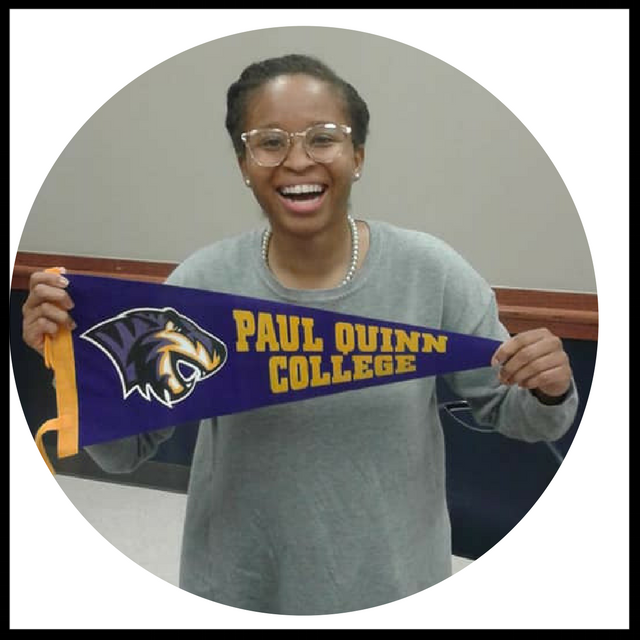 Krissica Harper - is the Development Associate at Paul Quinn College. Paul Quinn College has an ethos of