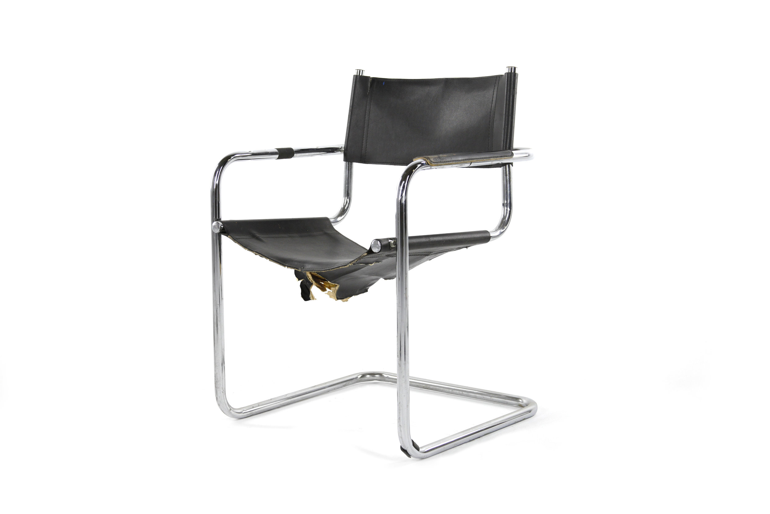 Black and Chrome Tenement Chair.jpg