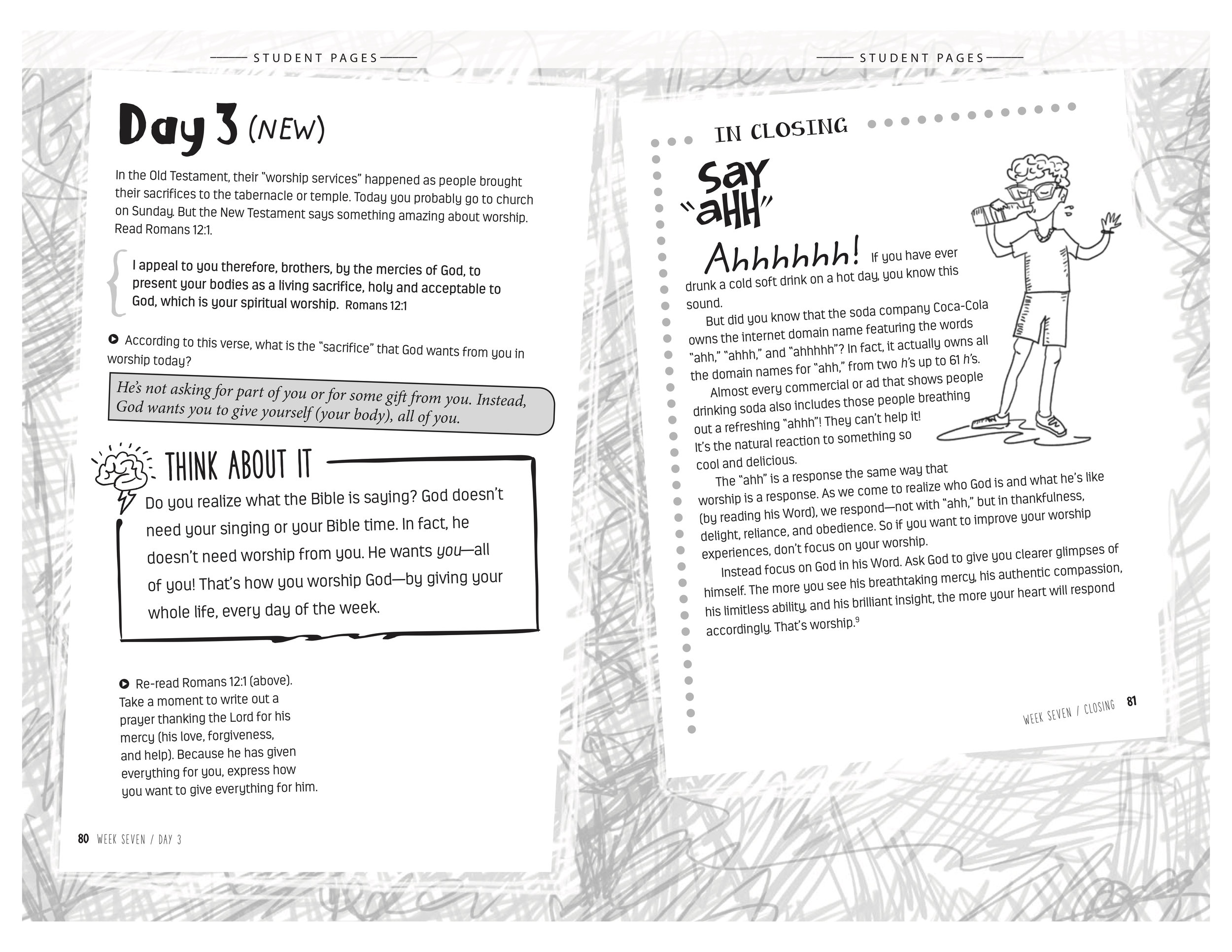 Sample Page from Teacher Guide