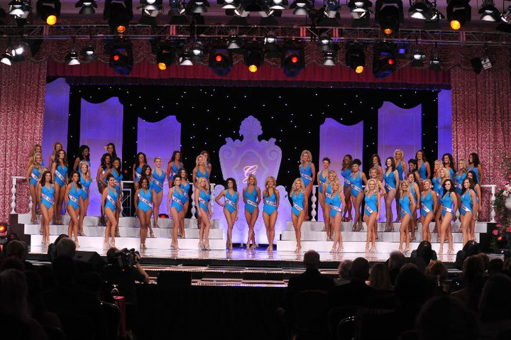 Mrs. America National Pageant-Swimsuit Competition