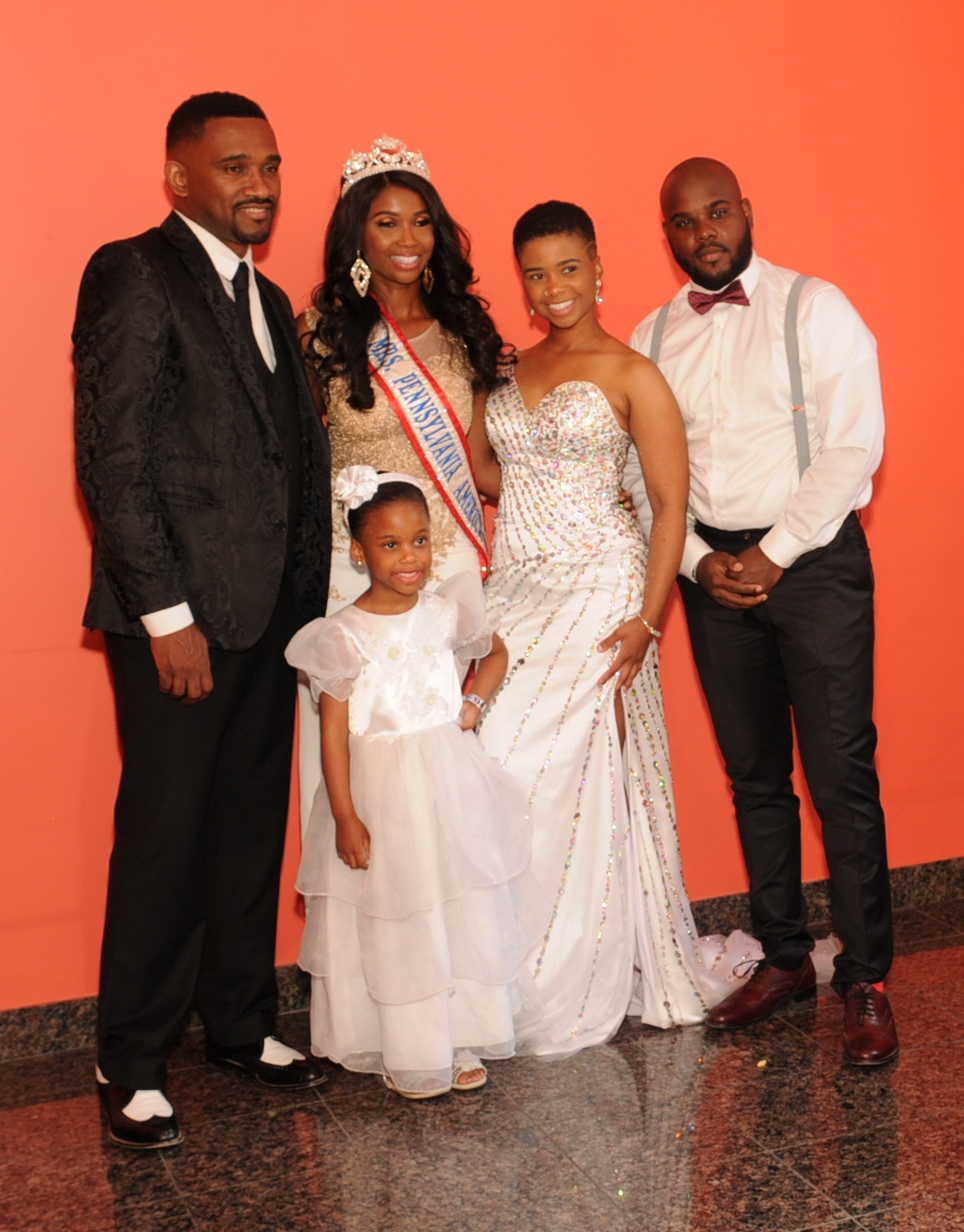 Mrs. PA America 2016 and her family