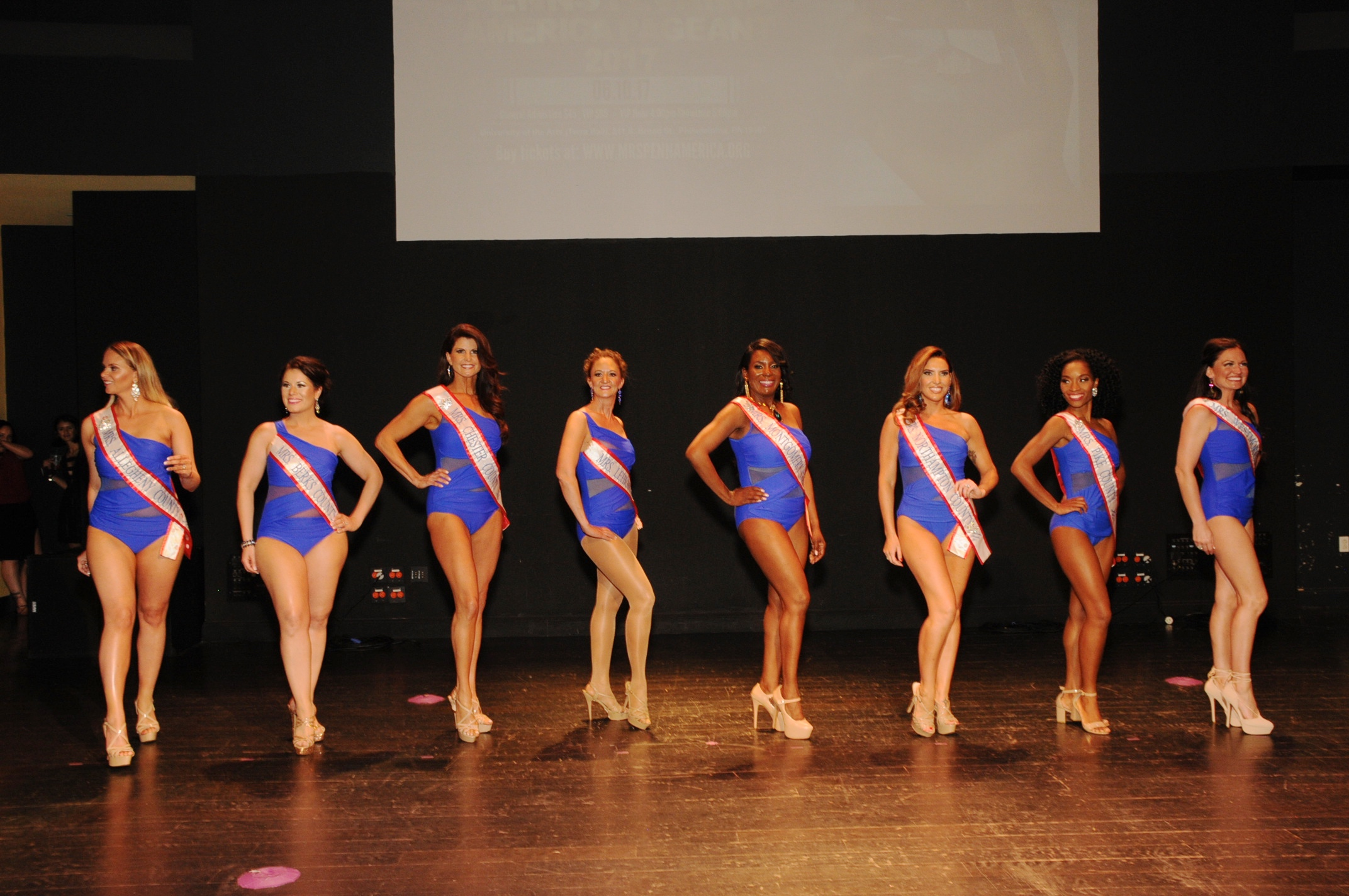 Mrs. PA America 2017-Swimsuit Competition