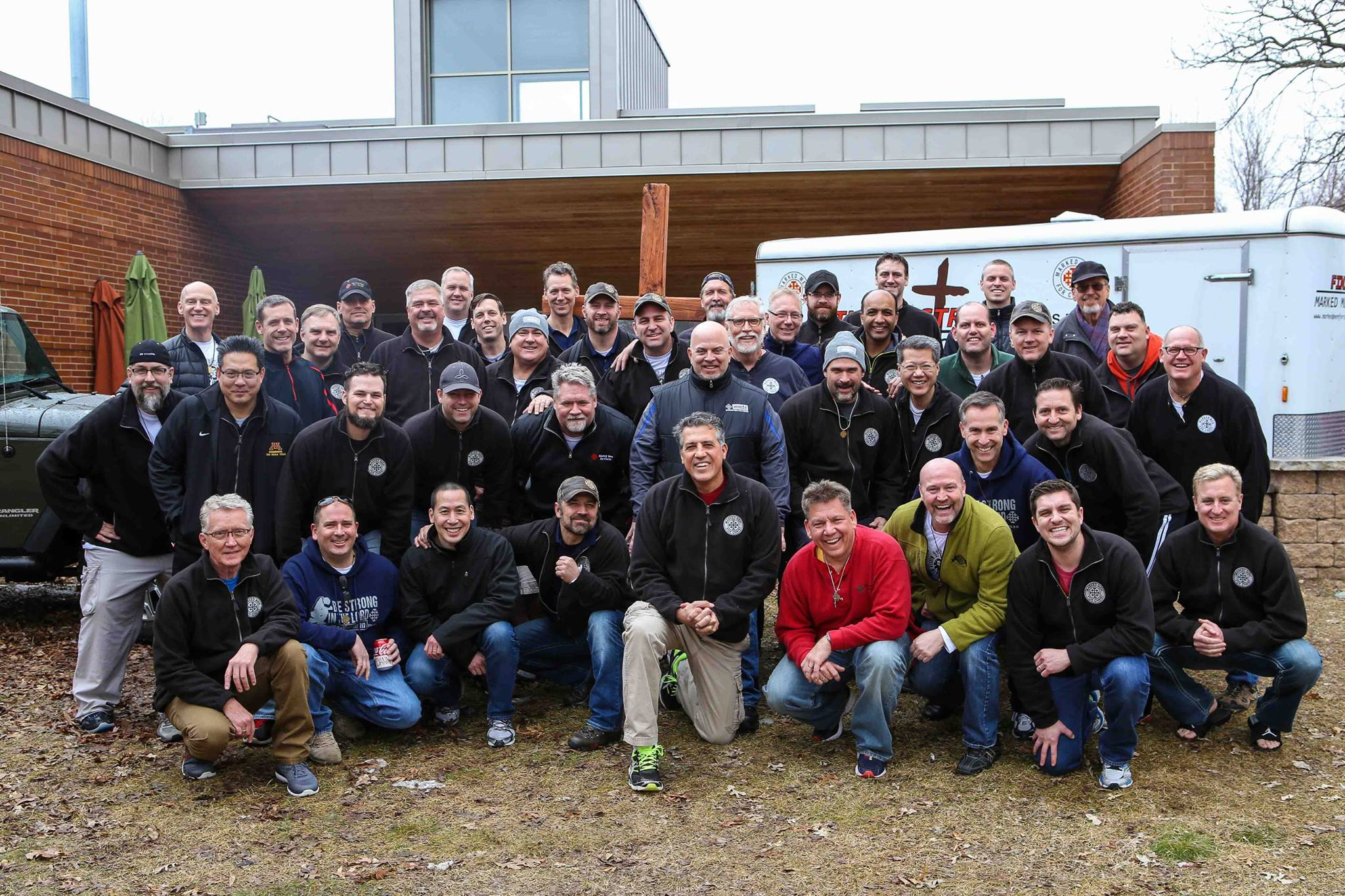 Staff for Marked Men for Christ Phase 1 weekend #209 Minnesota February 2016
