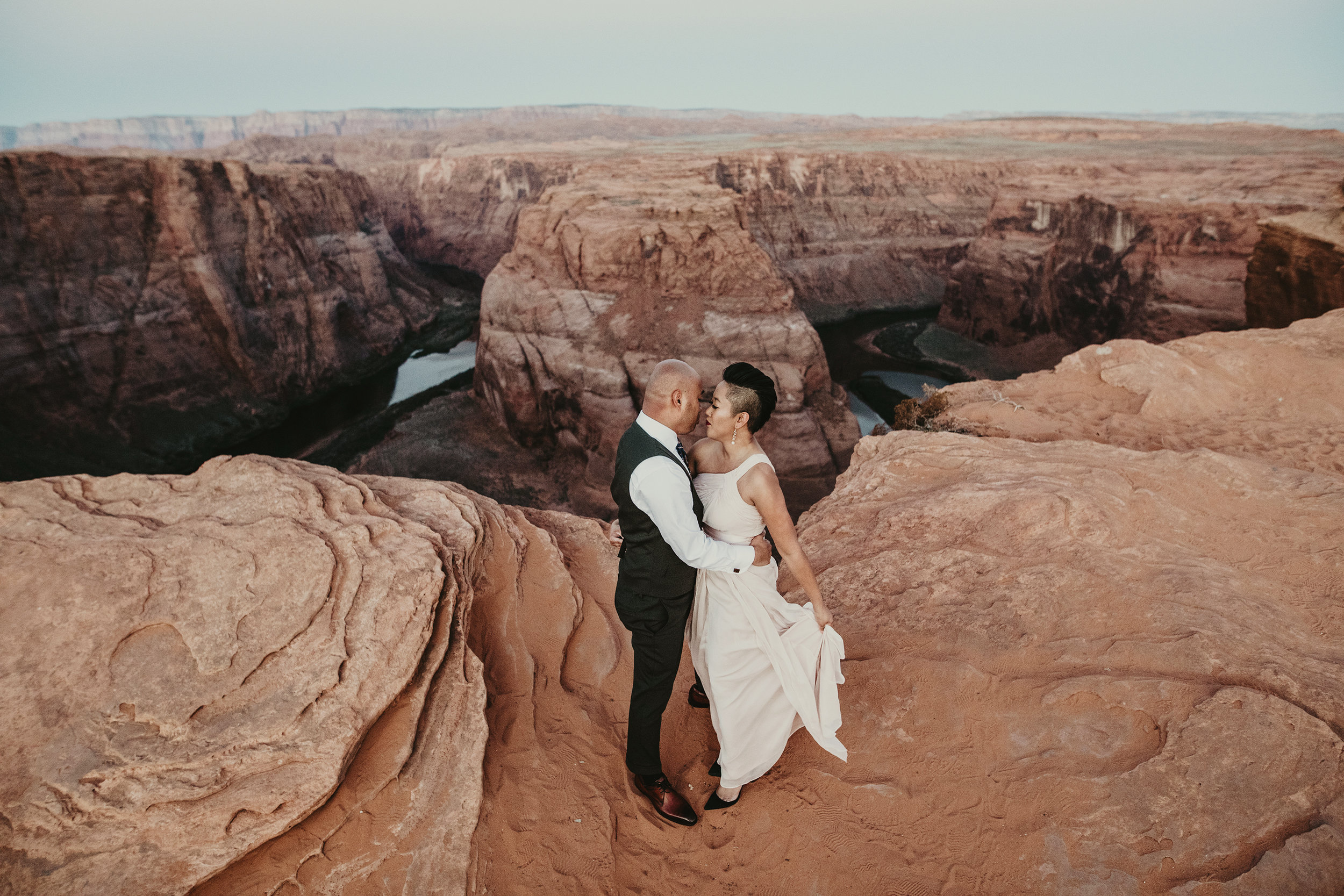 Out-Of-Utah Weddings - If you are getting married outside of my hometown state of Utah, don't for a second think I'm not available at a reasonable price to cover your wedding for you. I charge the cost of travel and lodging + $1800. I love to help you find cheap flight tickets so that it's affordable for you.