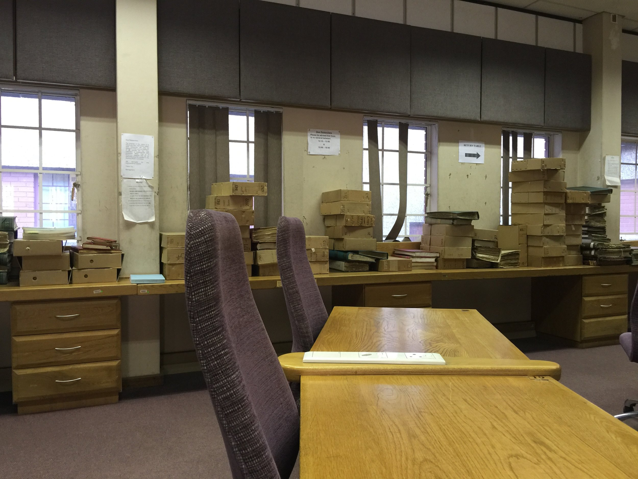 National Archives in Pretoria