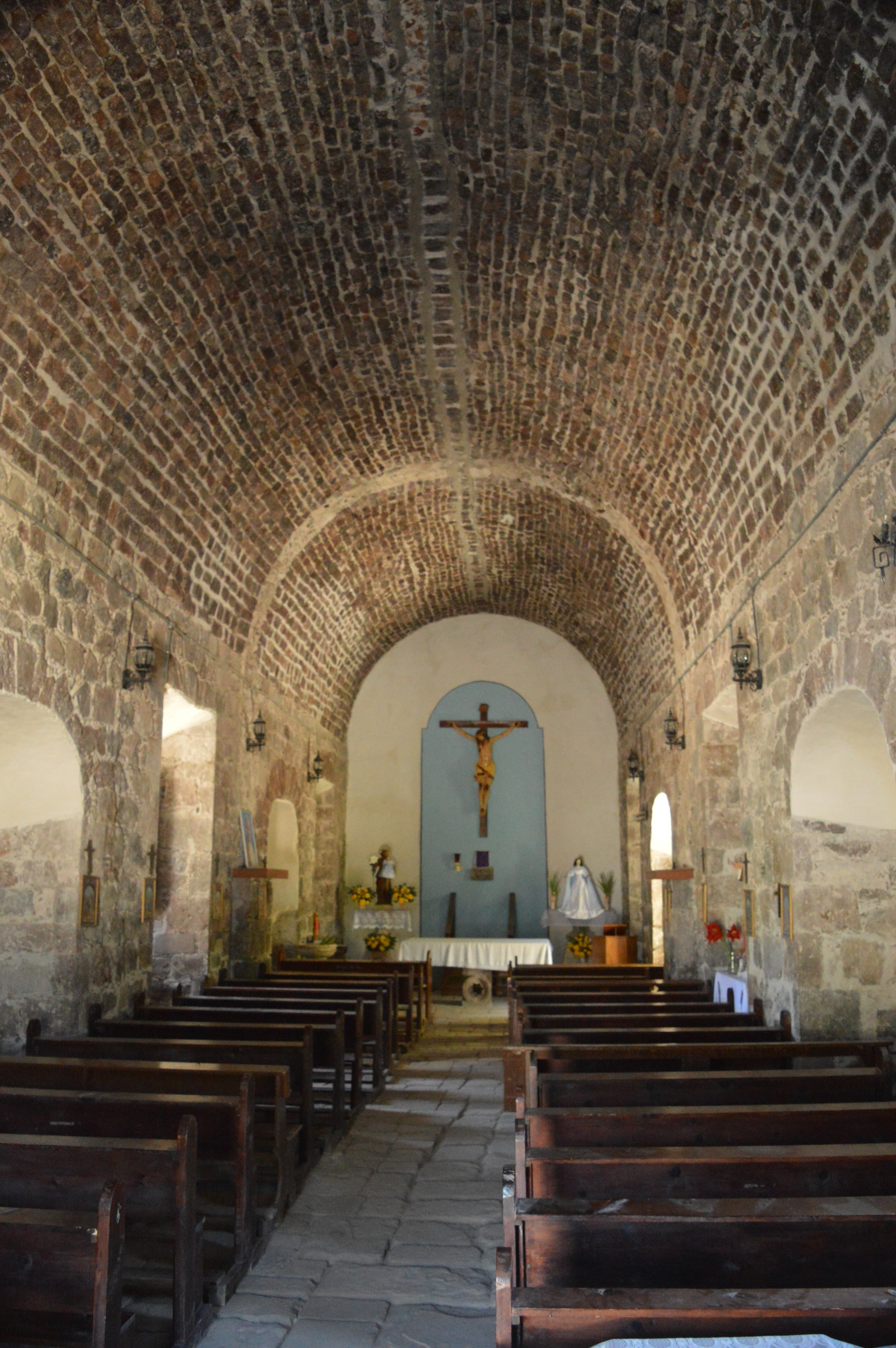 Inside Mision San Jose de Comondu