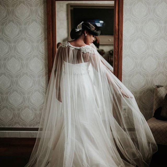 Beauty was her name... ⠀⠀⠀⠀⠀⠀⠀⠀⠀ 📸 @avonnephotography Dress @newyorkbrideandgroom Hair: @senkayhair