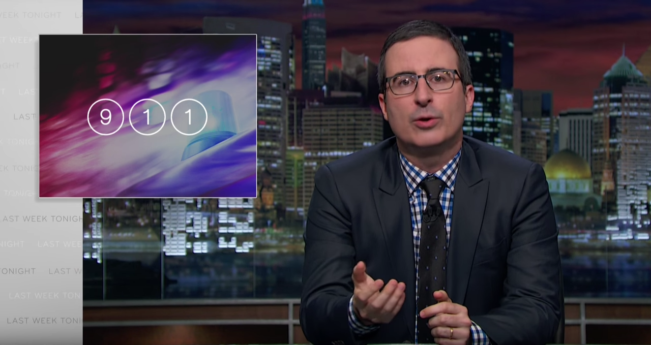 HBO's Last Week Tonight with John Oliver - 911