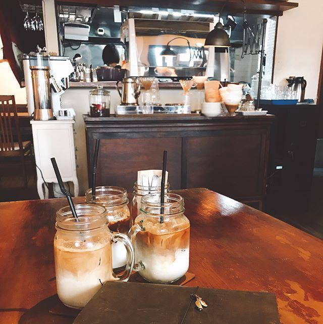 Time for a coffee break #roadtrip #coffee #japan #cafe #icelatte #rbf17 #カフェ #コーヒー#つくば