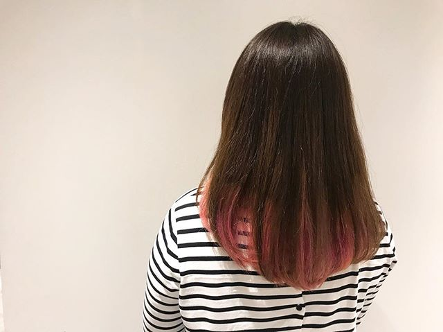 Fun hair, fun times? #pinkhair #ombrehair