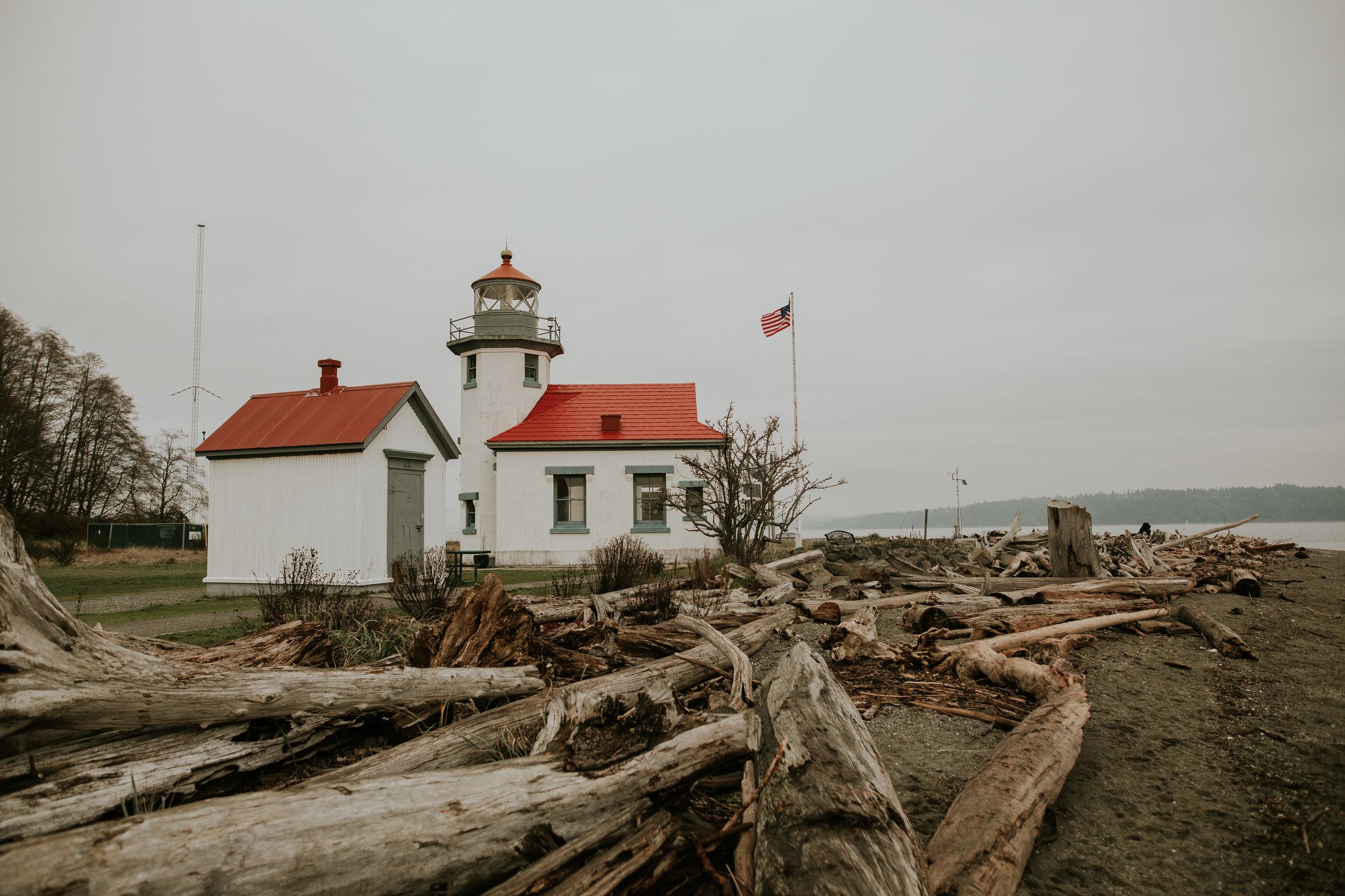 Point Robinson Lighthouse - Vashon Island, WA