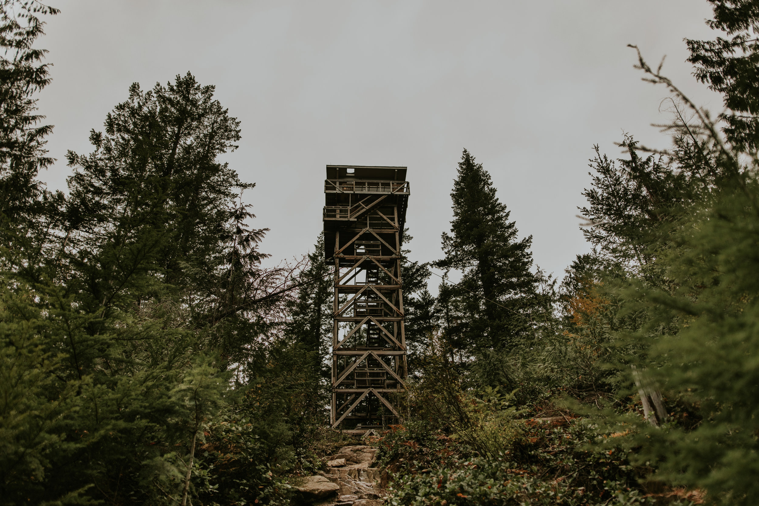 Heybrook Fire Lookout - Mt. Baker - Snoqualmie National Forest
