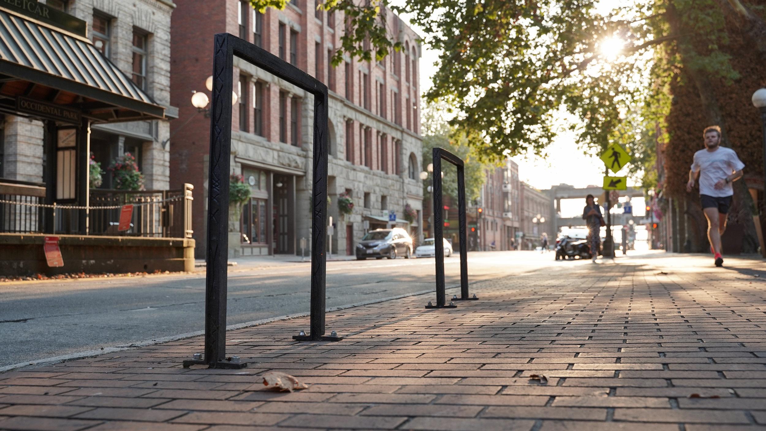 Pioneer Square Bike Rack project