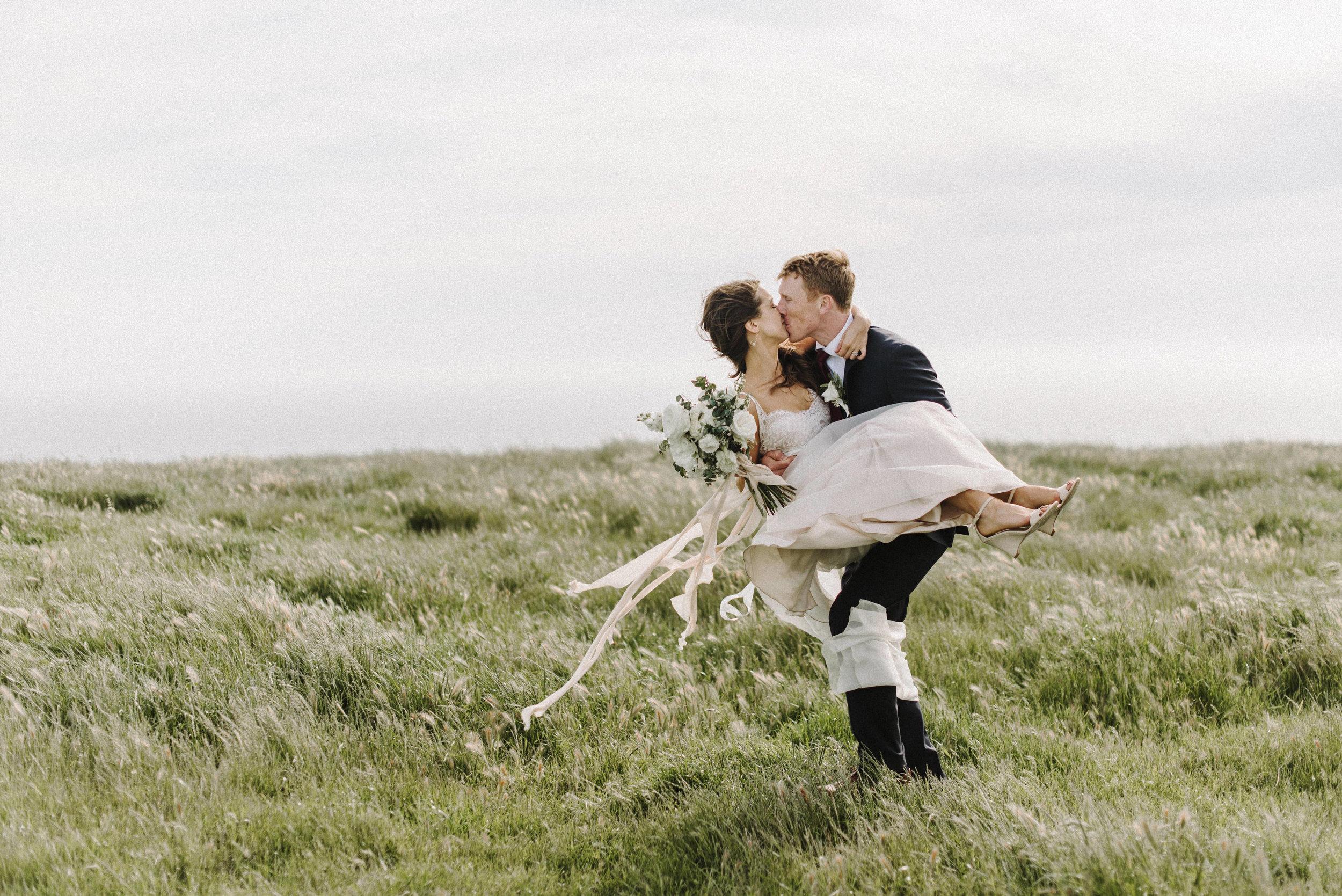 Shanon & John - Image by Love Ridge PhotographyFlorals by Rekindle