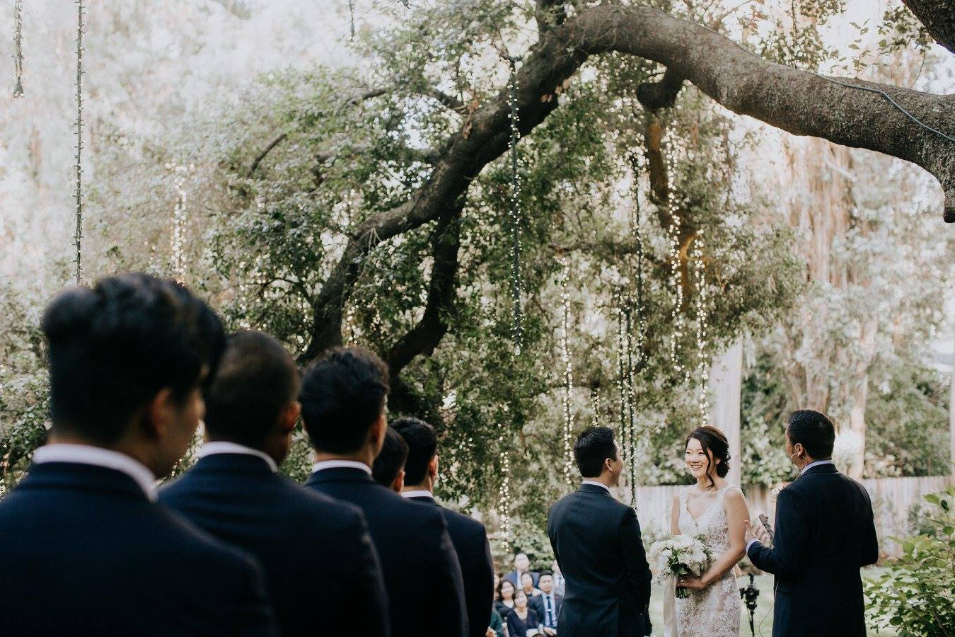 Soojin & Ray - Image by Michael RyuCoordination + Florals by Rekindle