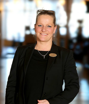"""""""Fokus är att ni som gäster ska få ut det mesta av er tid hos oss. Ordning och reda är viktigt, men också hjälpsamhet och engagemang!""""  – Pernilla Karlsson"""