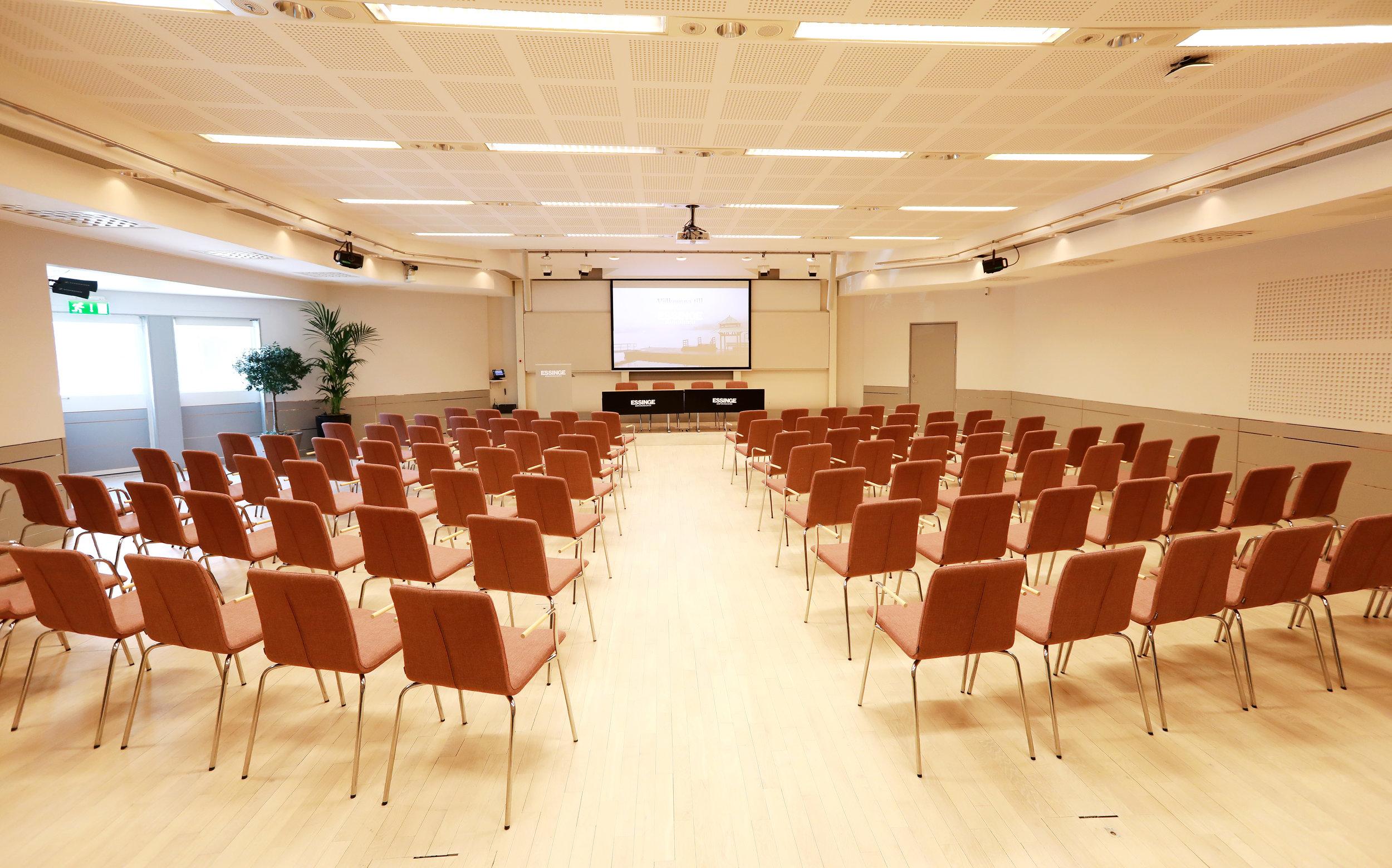 Alvikssalen, inspirerande lokal för kreativa konferenser, möten och utbildningar.