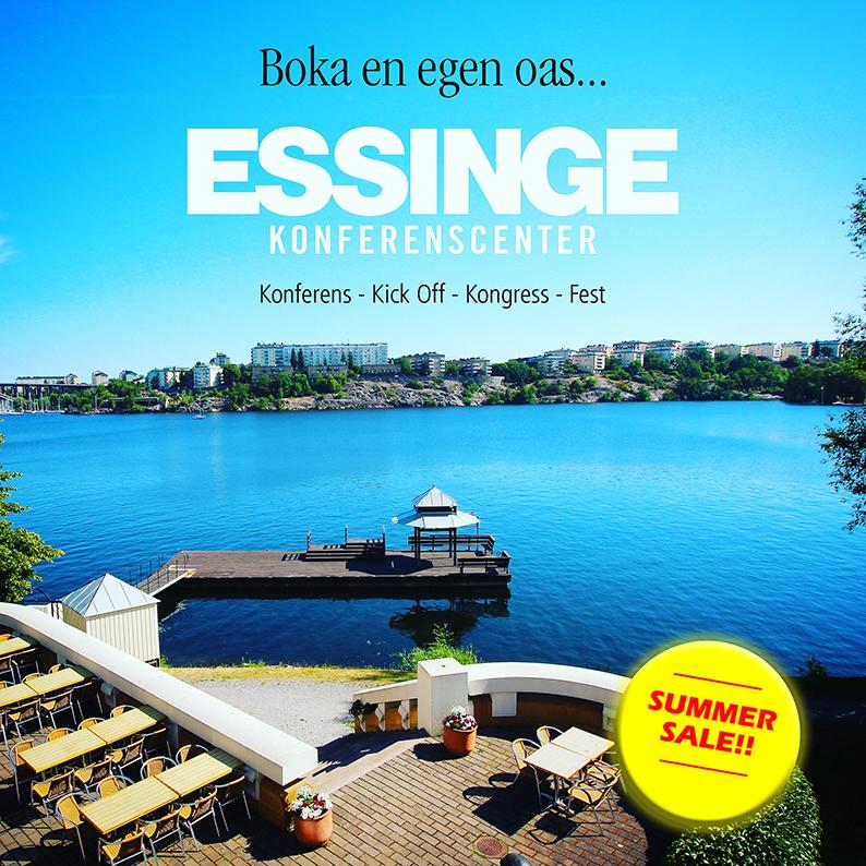Summer sale på Essinge Konferenscenter
