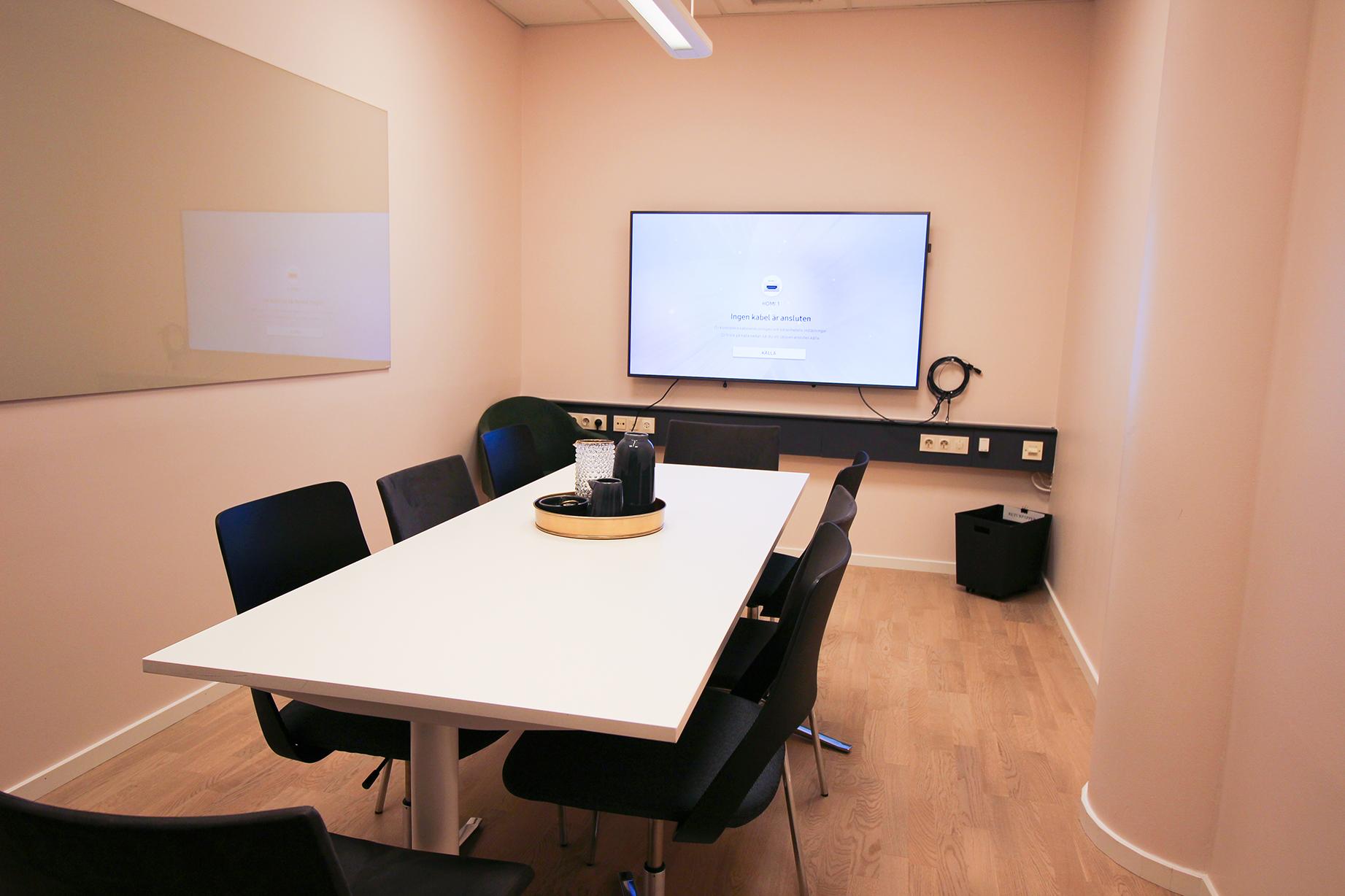Litet konferensrum i Stockholm.
