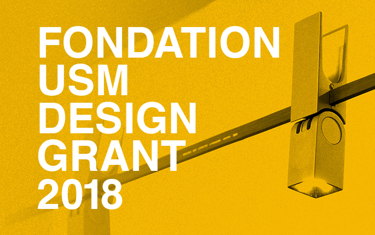 FONDATION USM DESIGN GRANT 2018