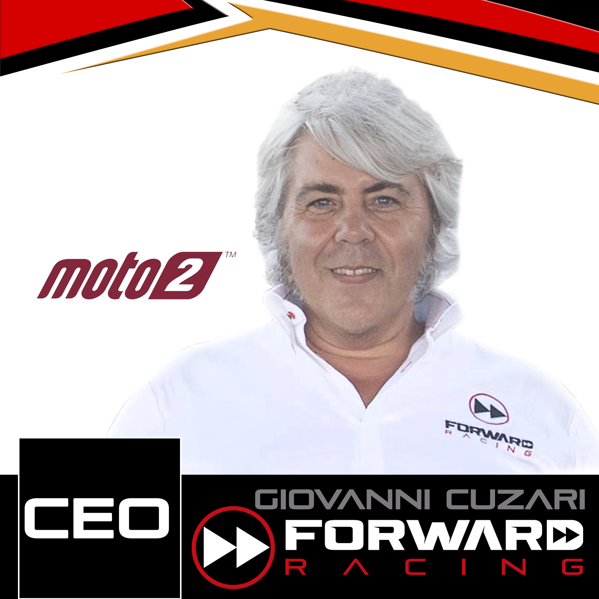 """- Giovanni Cuzari""""I'm very happy to work again with Suter Industries, which were already a vital part at the beginning of our Moto2 experience. This is a return to the origins; looking back to the past I see not only the same bike supplier but also Milena Koerner, who started the Moto2 experience with us. I still have very good memories of these years, the start of everything, a period of hard work that has rewarded us with fantastic results. During my latest visit to the headquarters, 7 years after my last trip to Turbenthal, I saw great progress and a lot of investments made by this company and I think that Suter Industries is the only engineering in the championship that could bring important updates race by race."""""""