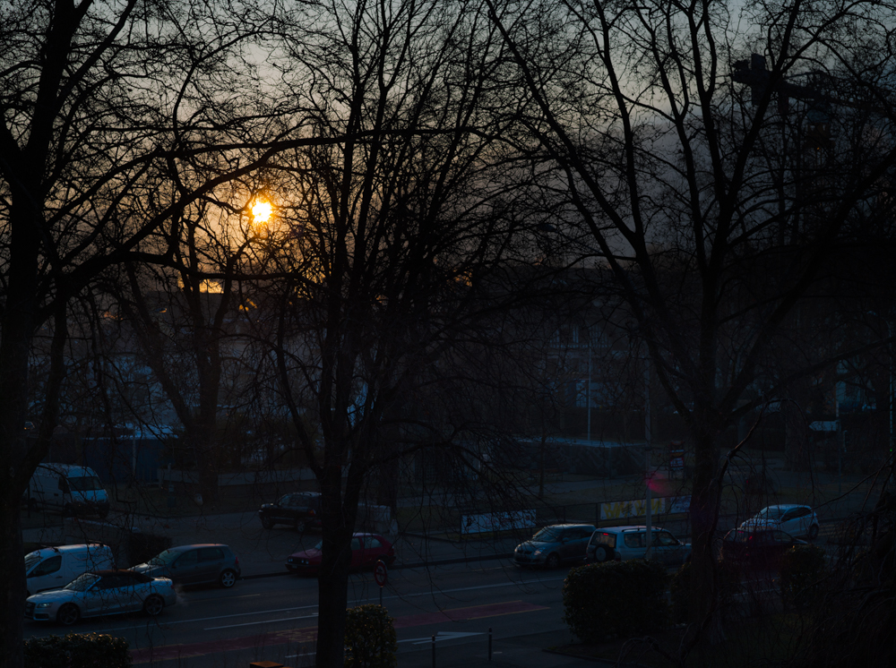 Carouge, winter 2015, morning