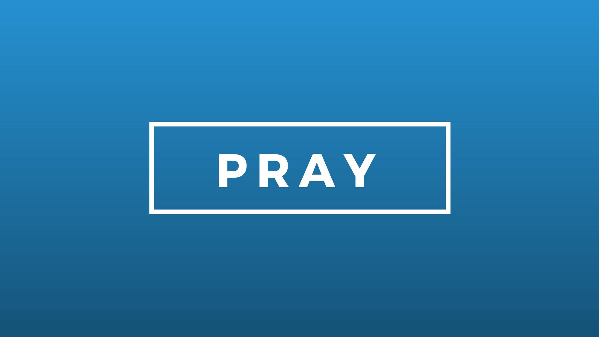 'PRAY' - JANUARY 2017