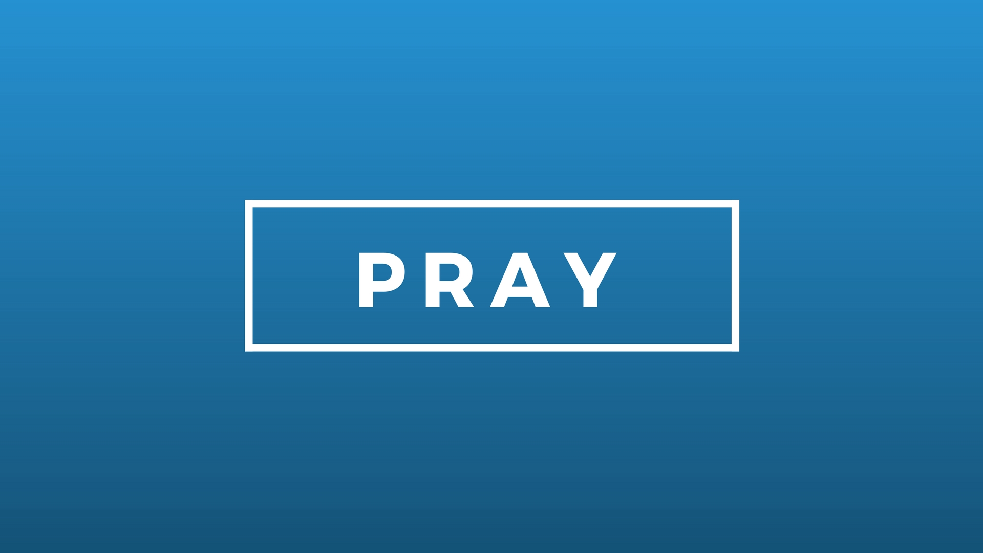 PRAY Sermon Series Image
