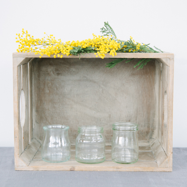 T-LIGHT HOLDERS - MINI CHURNS & VOTIVES - can come clear or decorated to your preference